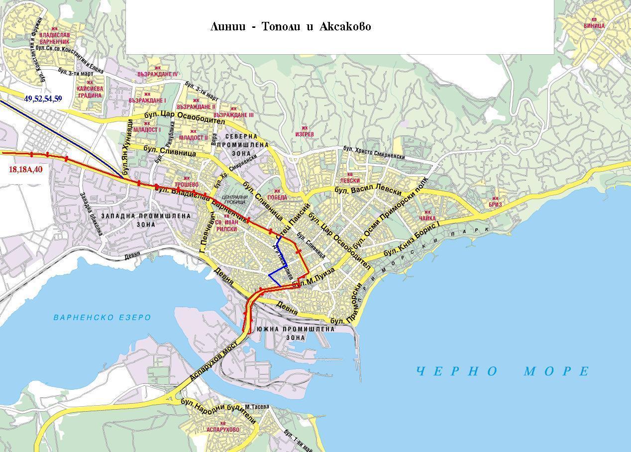 Avtobusni Linii Ot Varna Do Aksakovo Marshruti I Razpisaniya